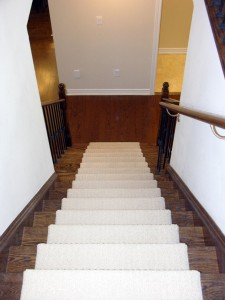 Refinishing Staircase